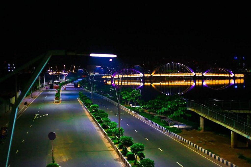 Dhaka City At Night