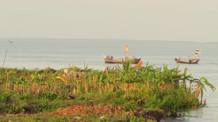 Manpura Island Meghna River