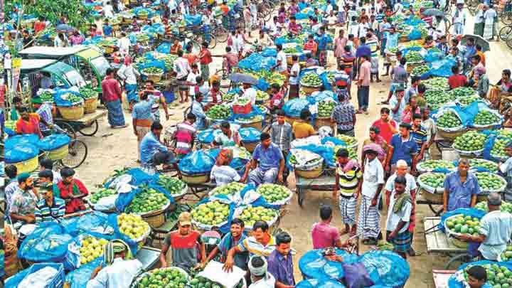Kansat mango market in Asia