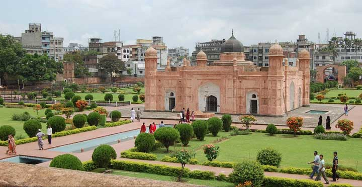 Lalbagh Fort view from Top