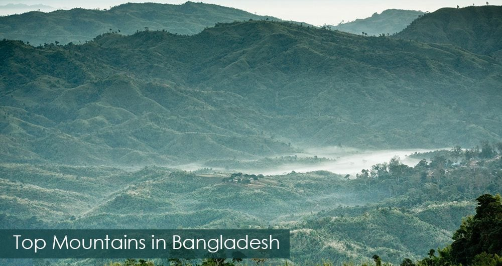 Top Highest Mountains in Bangladesh
