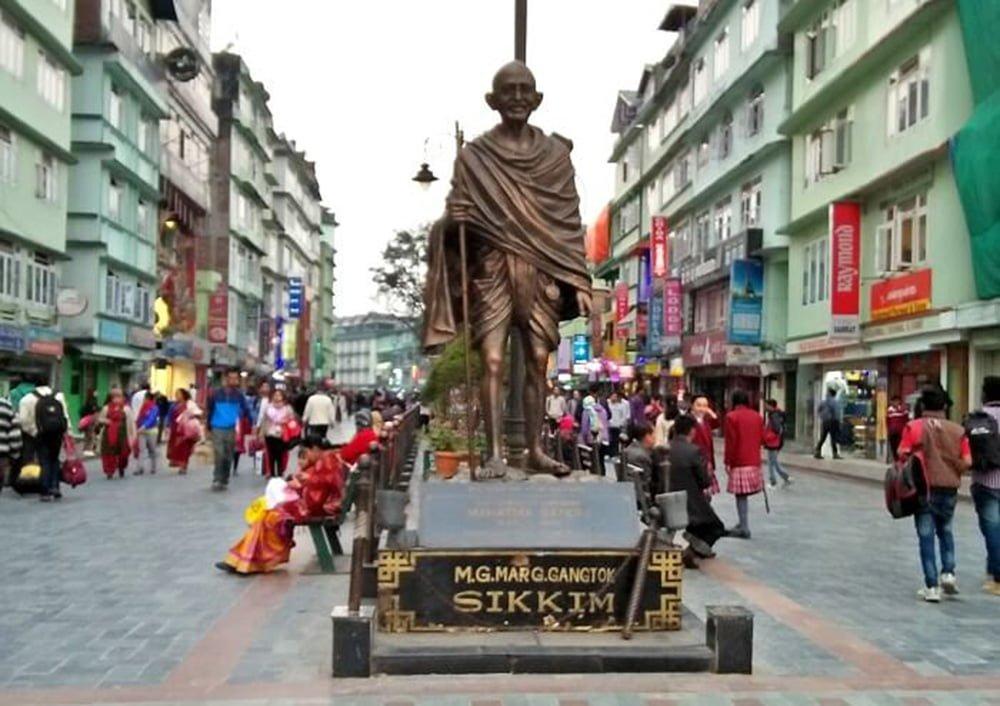 mg-marg-Gangtok