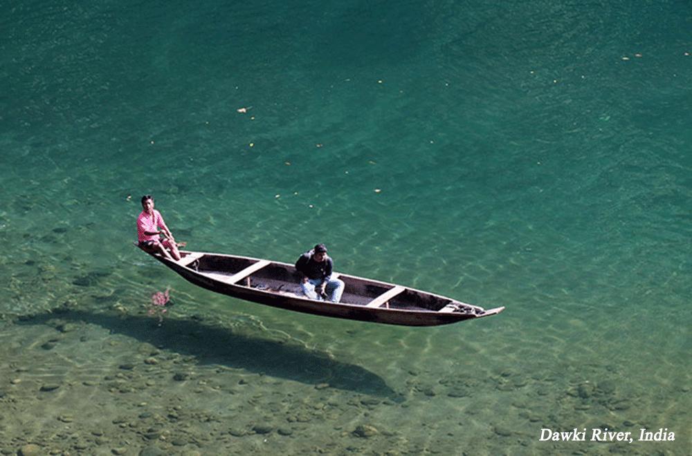 Dawki River India