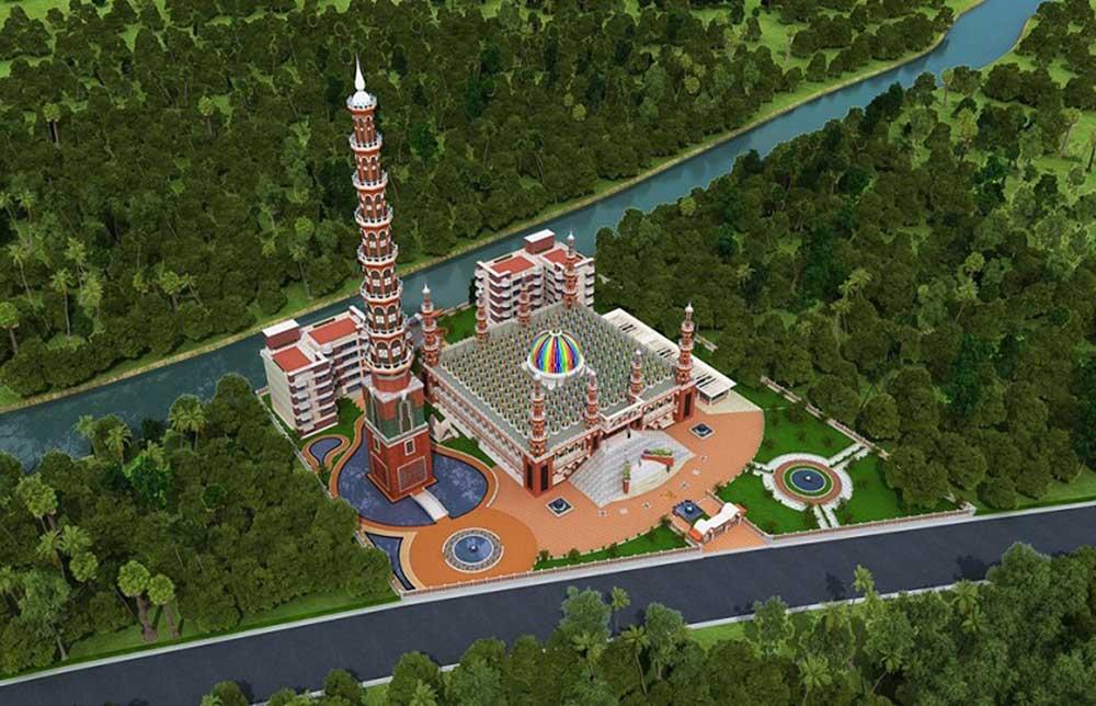 201 Dome Mosque Gopalpur