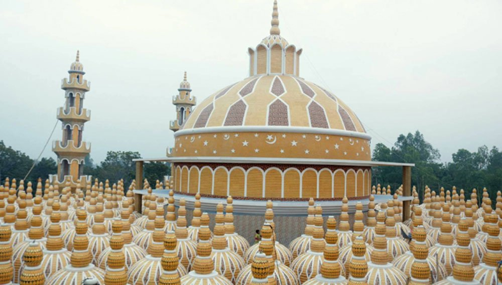 most domes in the world