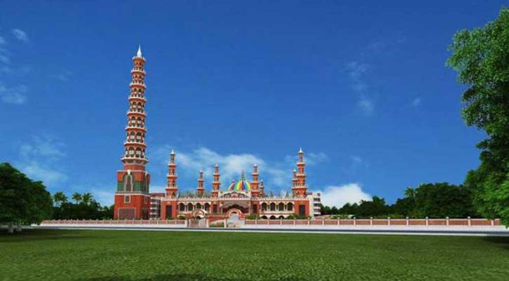 tallest minaret mosque in the world
