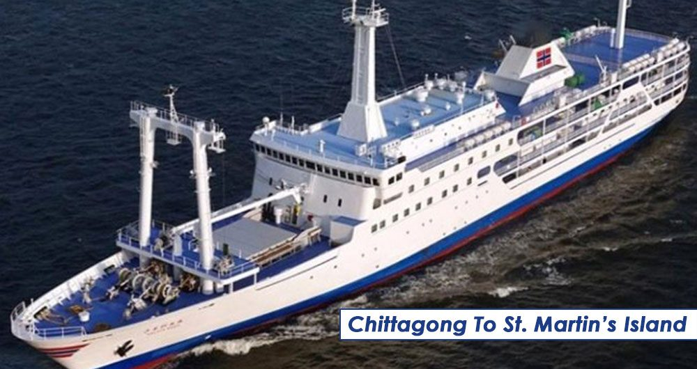 MV Bay One Chittagong To St. Martin's Island
