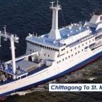 MV Bay One Chittagong To St. Martin's Island