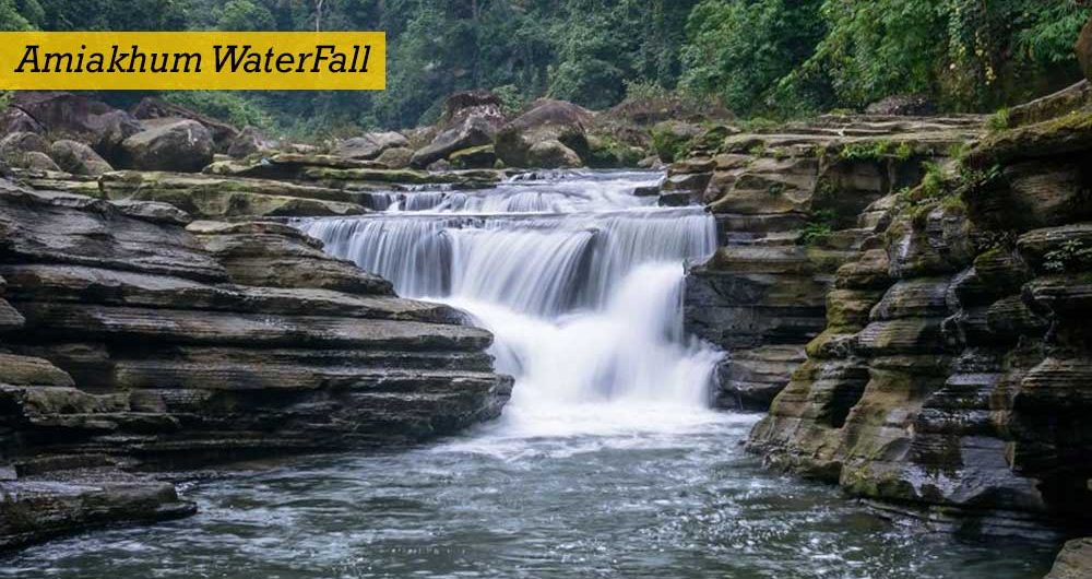Amiakhum Waterfall