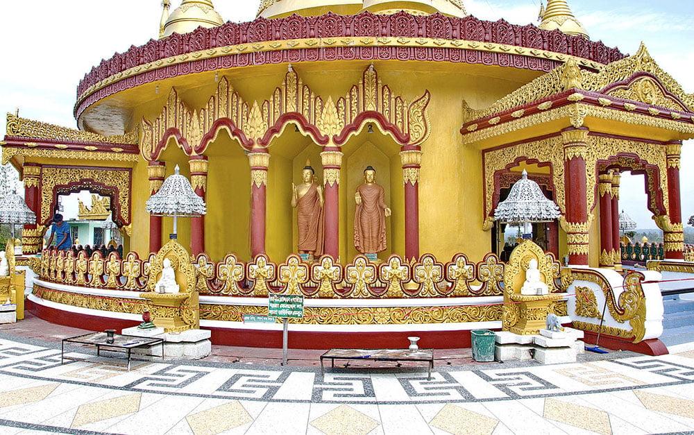Bandarban Shorno Pagoda