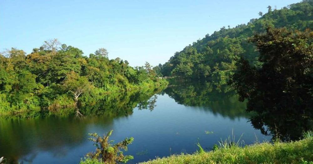 Prantik Lake Hilly Areas