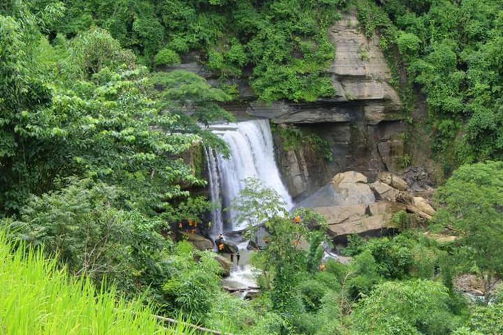 tinap saitar bandarban waterfall