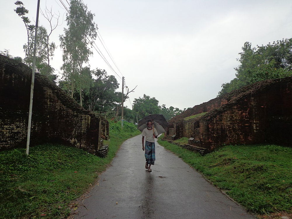 Entrance Of Mahasthan Garh