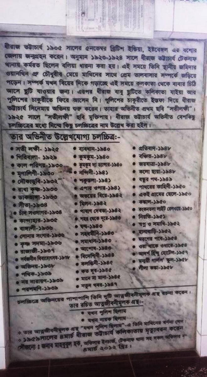 Dhiraj Bhattacharya Literature