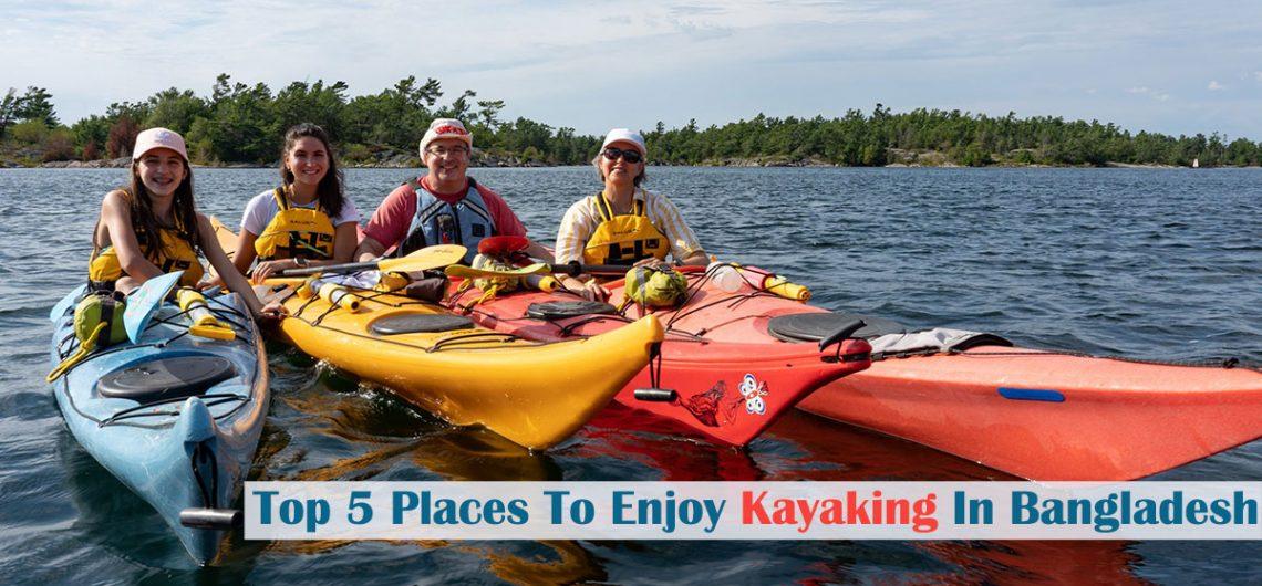 Kayaking Bangladesh