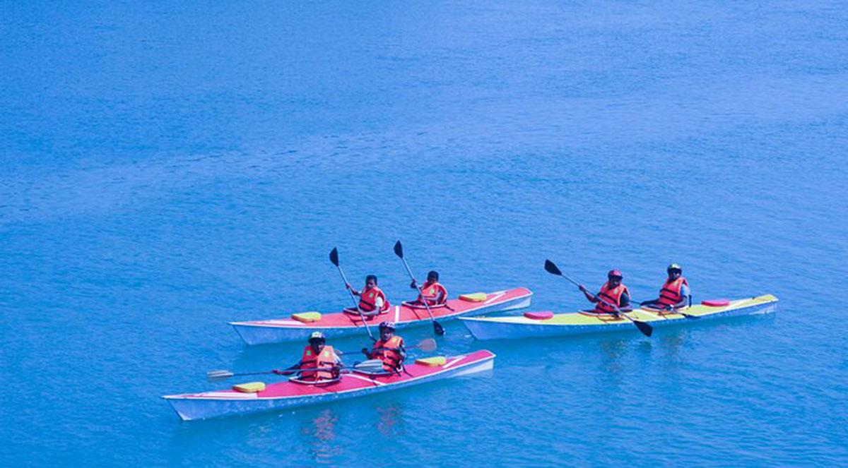 Kayaking In Coxs Bazar