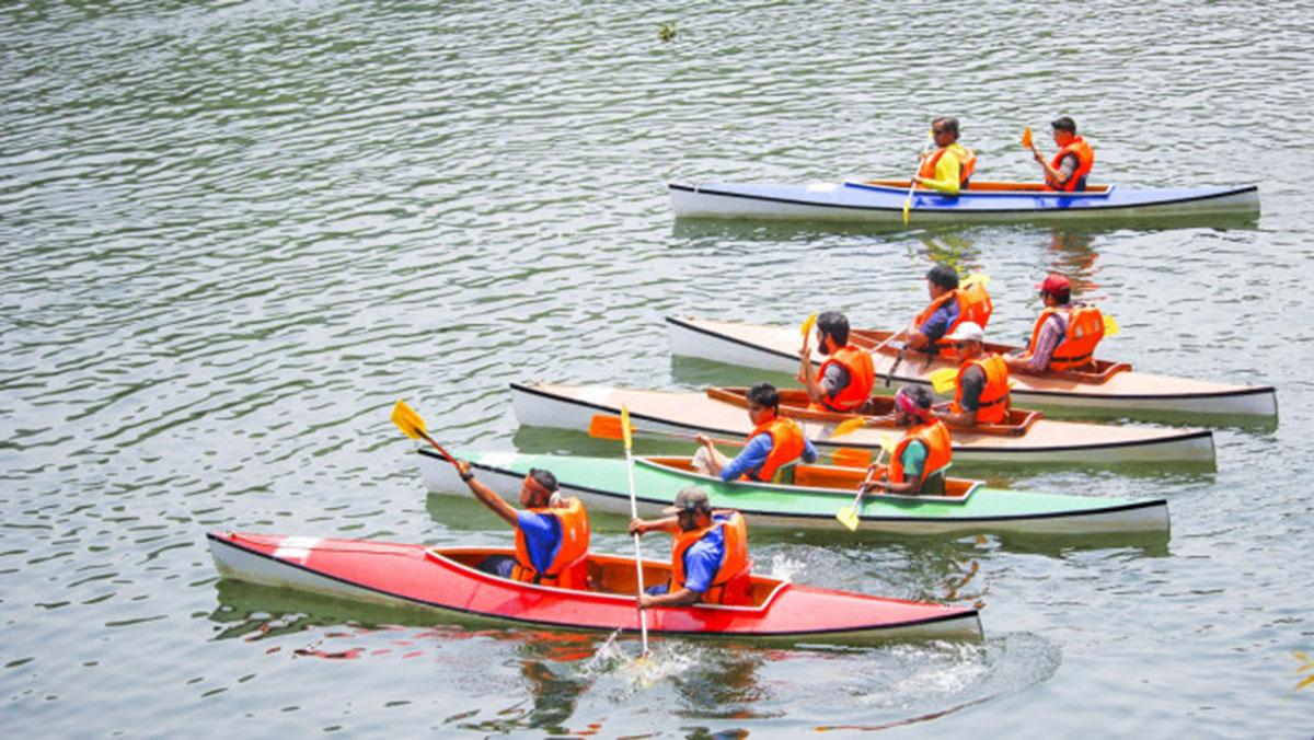 Kayaking In Dhaka