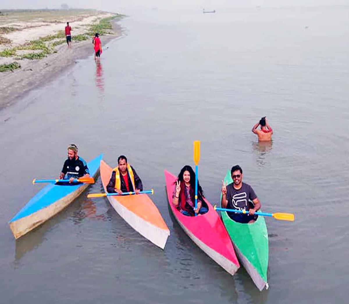 Kayaking In Narayanganj