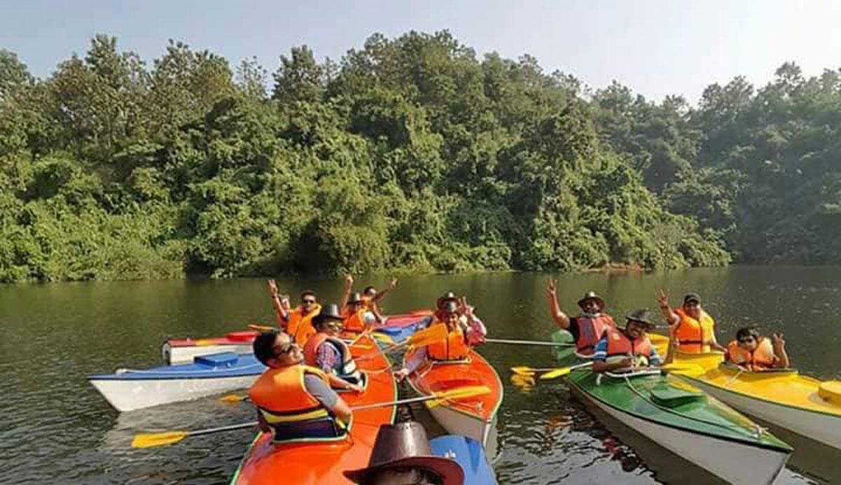 Kayaking in Bangladesh