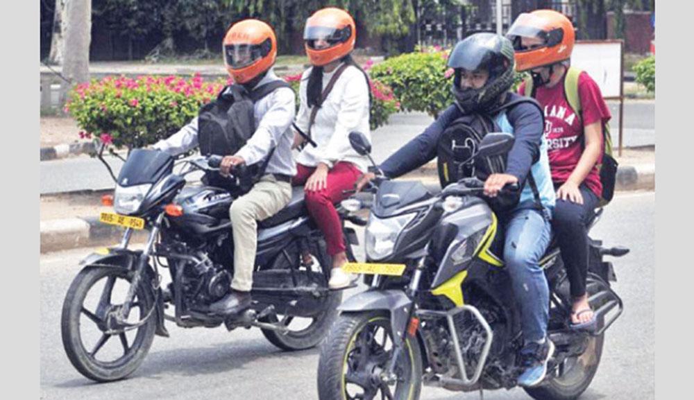 Dhaka City Tour Motorbike